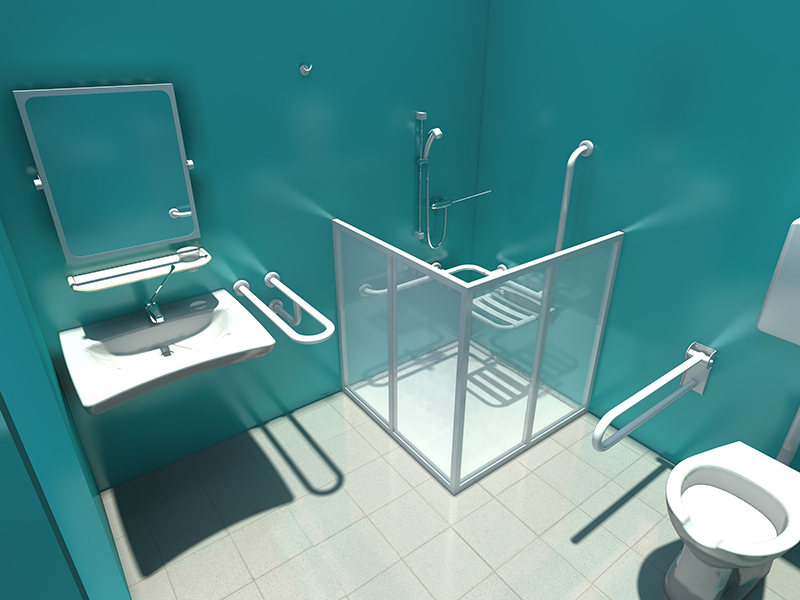 Accesorios De Baño Discapacitados:Shower Accessories for Disable